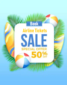 Airline Tickets sale