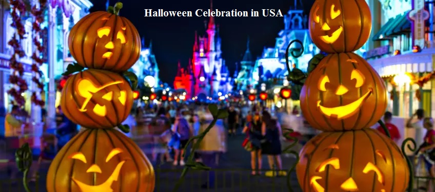 Halloween Celebration in USA