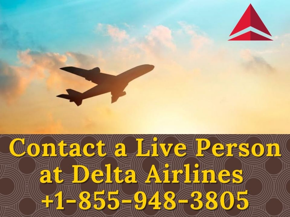 Contact a Live Person at Delta Airlines
